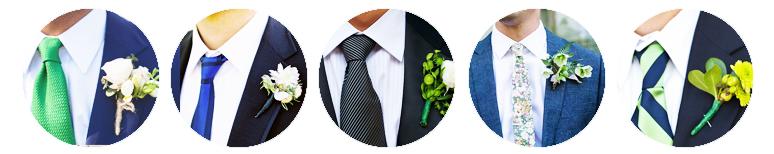 Nudos de corbata para boda