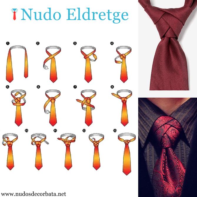 como hacer el nudo de corbata Eldredge
