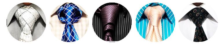 nudos de corbata raros extravagantes exóticos o diferentes