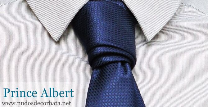 C mo hacer el nudo de corbata prince albert pr ncipe for Nudos de corbata modernos