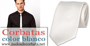 Corbatas Blancas