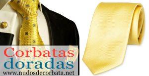 Corbatas Doradas