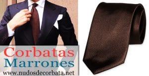 Corbatas Marrones