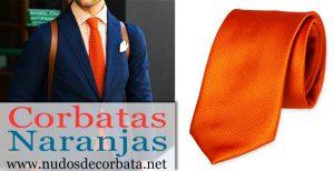 Corbatas Naranjas
