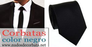 Corbatas Negras