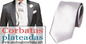 Corbatas Plateadas