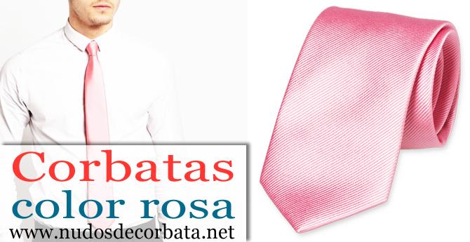 663e6adad ▷ Corbatas Rosas ¡Las Mejores Disponibles para Comprar Online!