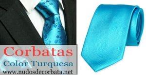Corbatas Turquesa