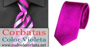 Corbatas Violetas