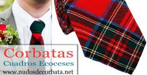 Corbatas de Cuadros Escoceses