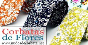 Corbatas de Flores