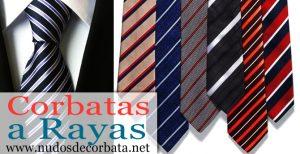 Corbatas de Rayas