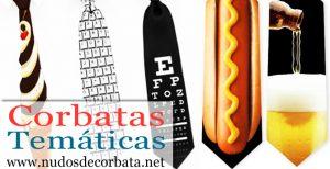 Corbatas de distintas temáticas para Comprar On-line